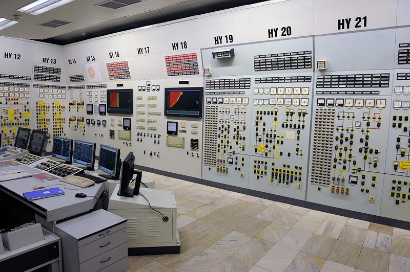 БЩУ пятого энергоблока АЭС Козлодуй в Болгарии