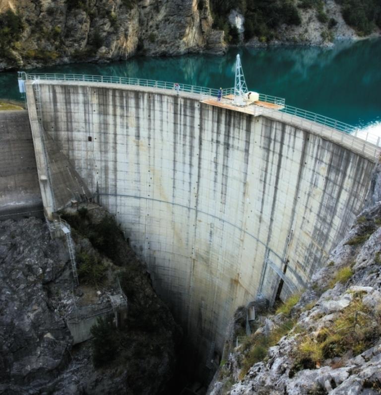ГЭС Pont Baldy на юго-востоке Франции
