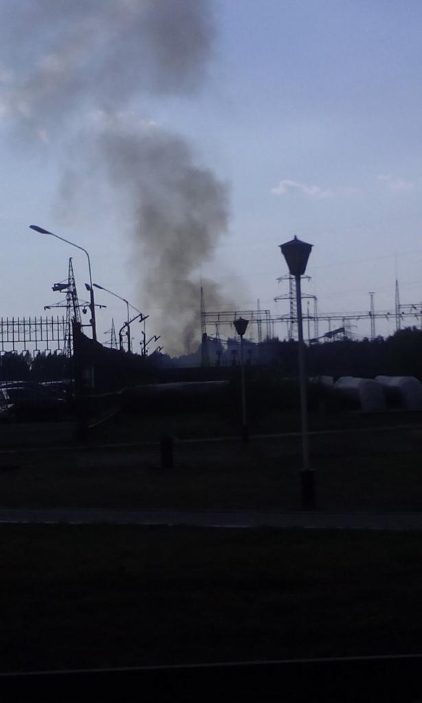 Пожар на ОРУ Рефтинской ГРЭС