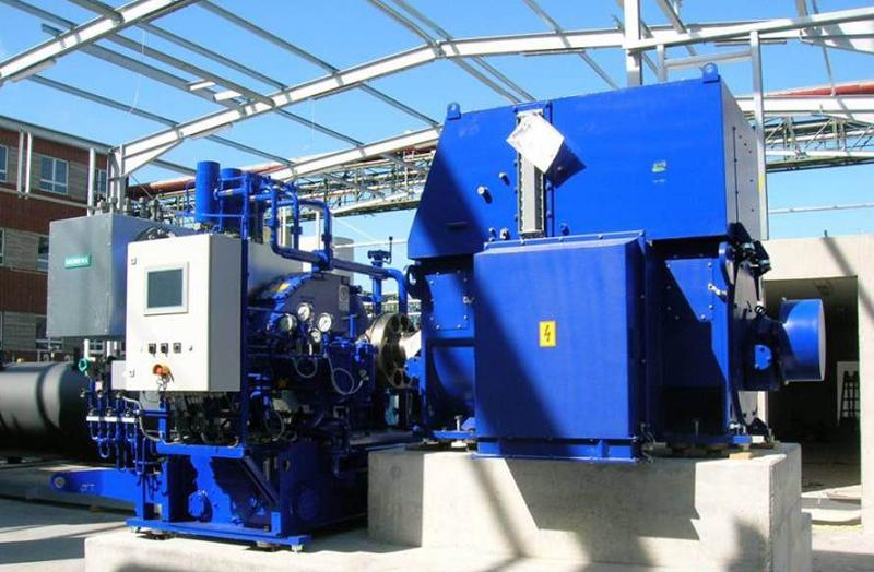 Компактная паровая турбина Siemens SST-040