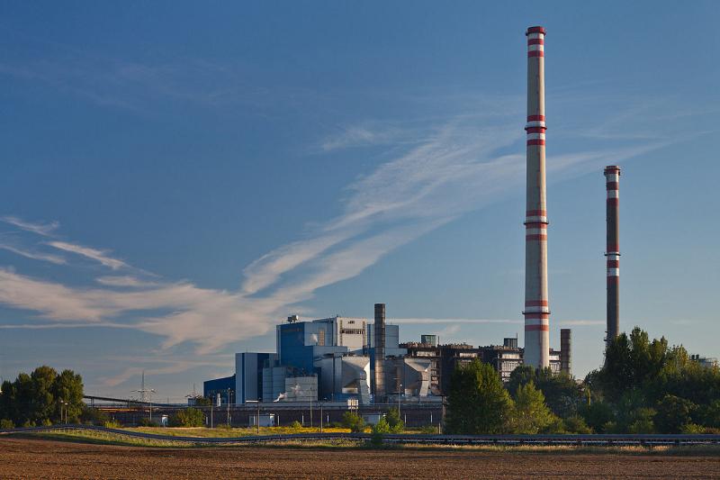 Угольная ТЭС Vojany в Словакии
