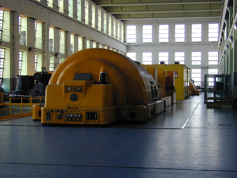 Паровые турбины на итальянской ТЭС Chivasso