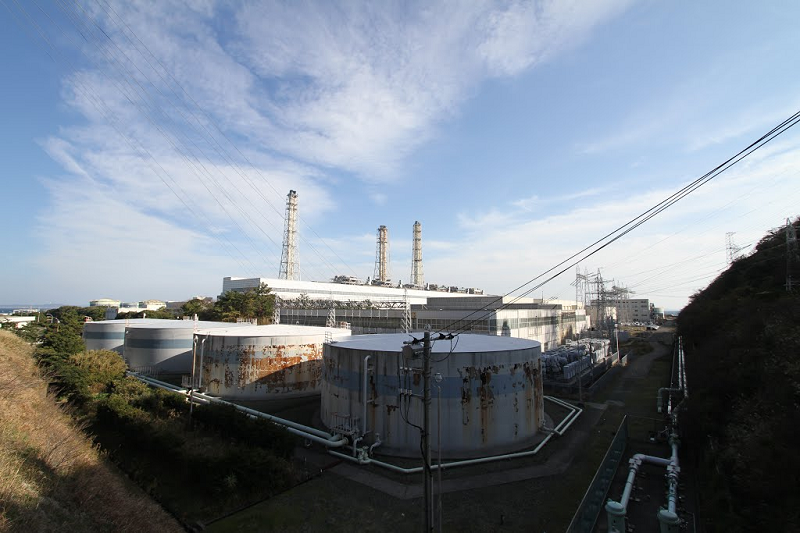 Японская ТЭС Yokosuka, работающая на мазуте
