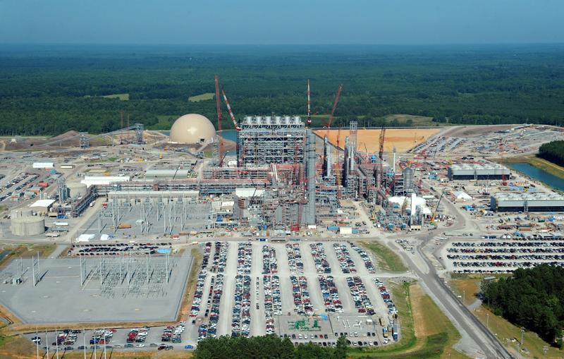 Строительство ТЭС Kemper County, штат Мисиссипи, США