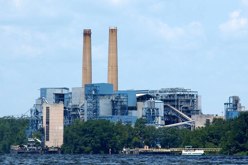 Угольная электростанция Mercer мощностью 632 МВт в Гамильтоне, США