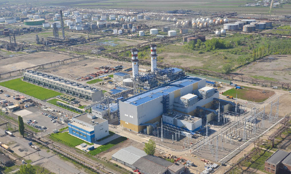 Электростанция в Румынии