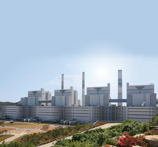Электростанция в Южной Корее
