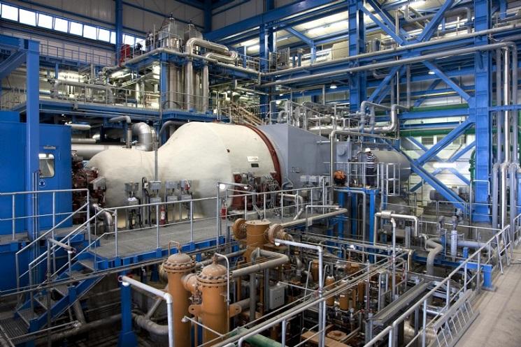 Газовая турбина PG 6111FA
