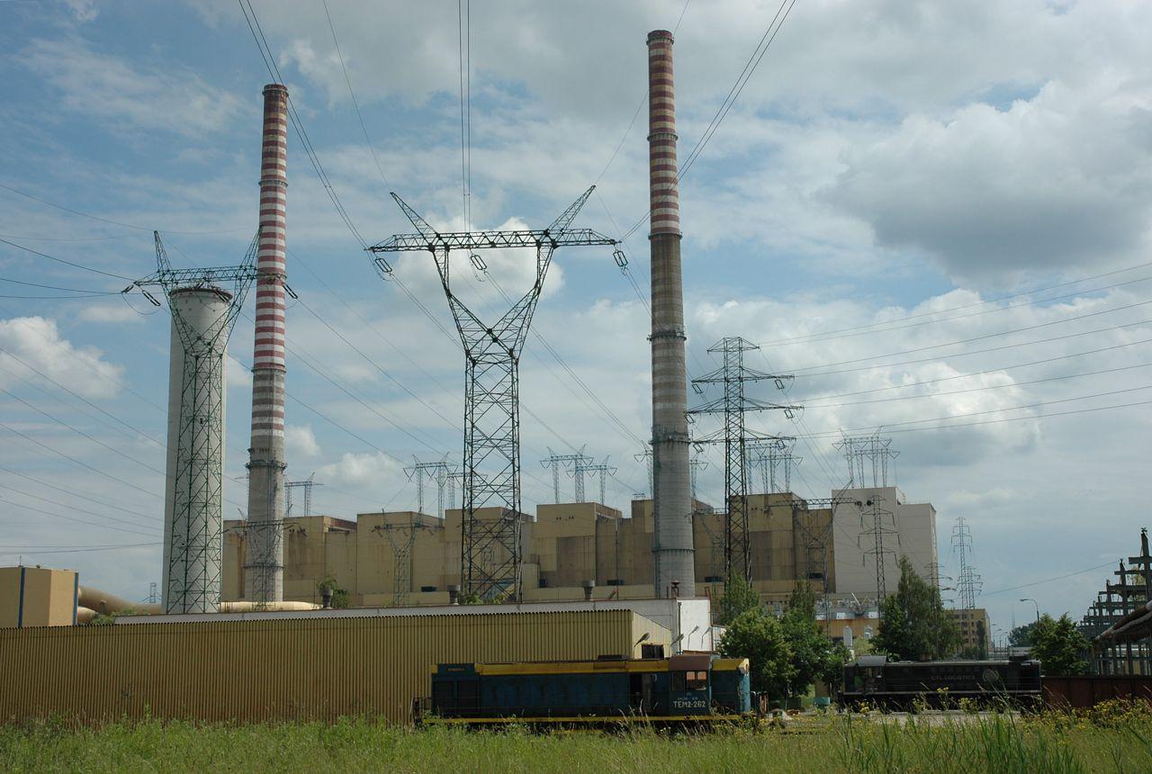 Электростанция в Польше