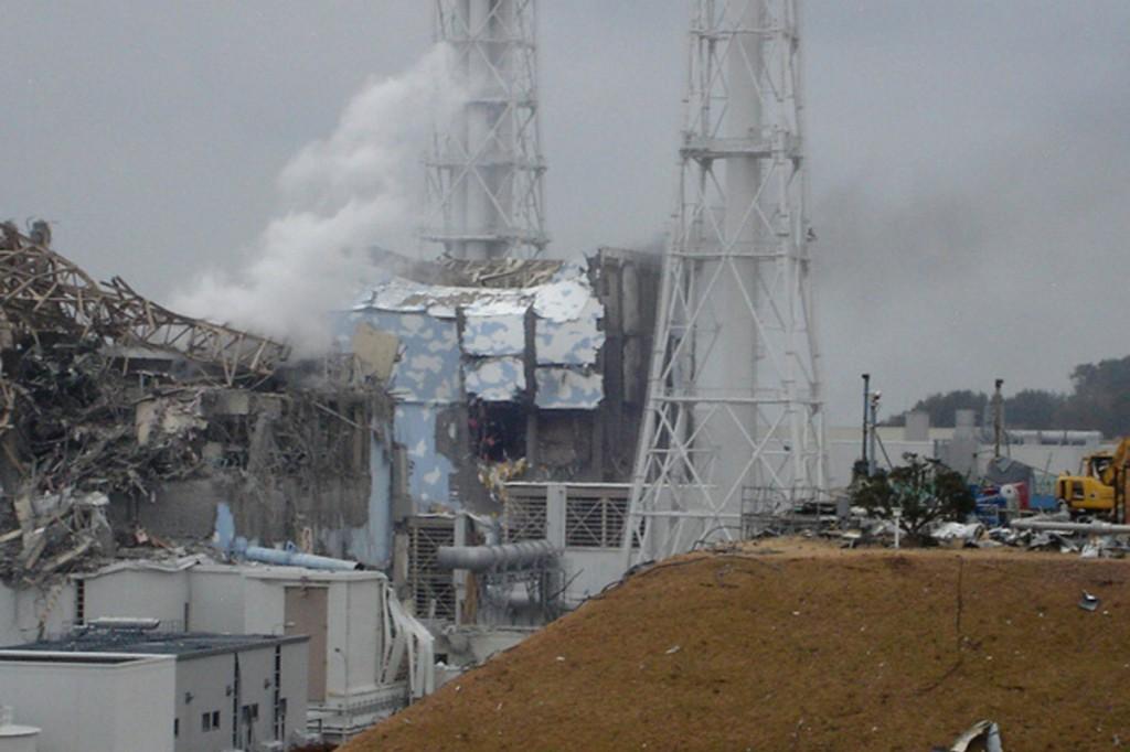 АЭФ Фукусима в 2011 году