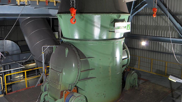 Угольная мельница