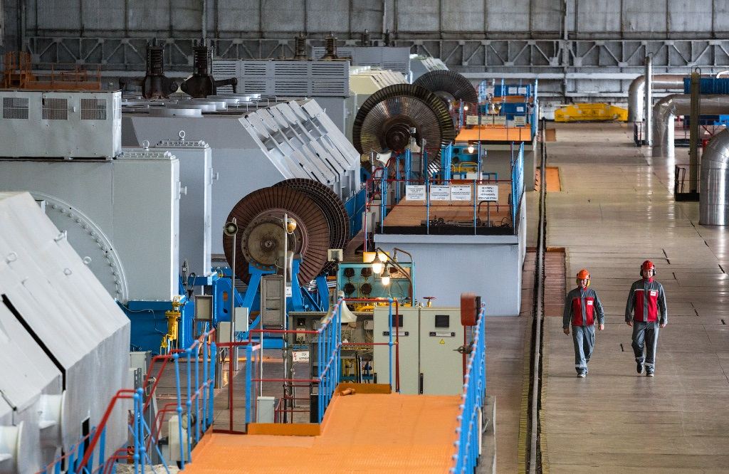Конденсационная турбина на Сургутской ГРЭС-2