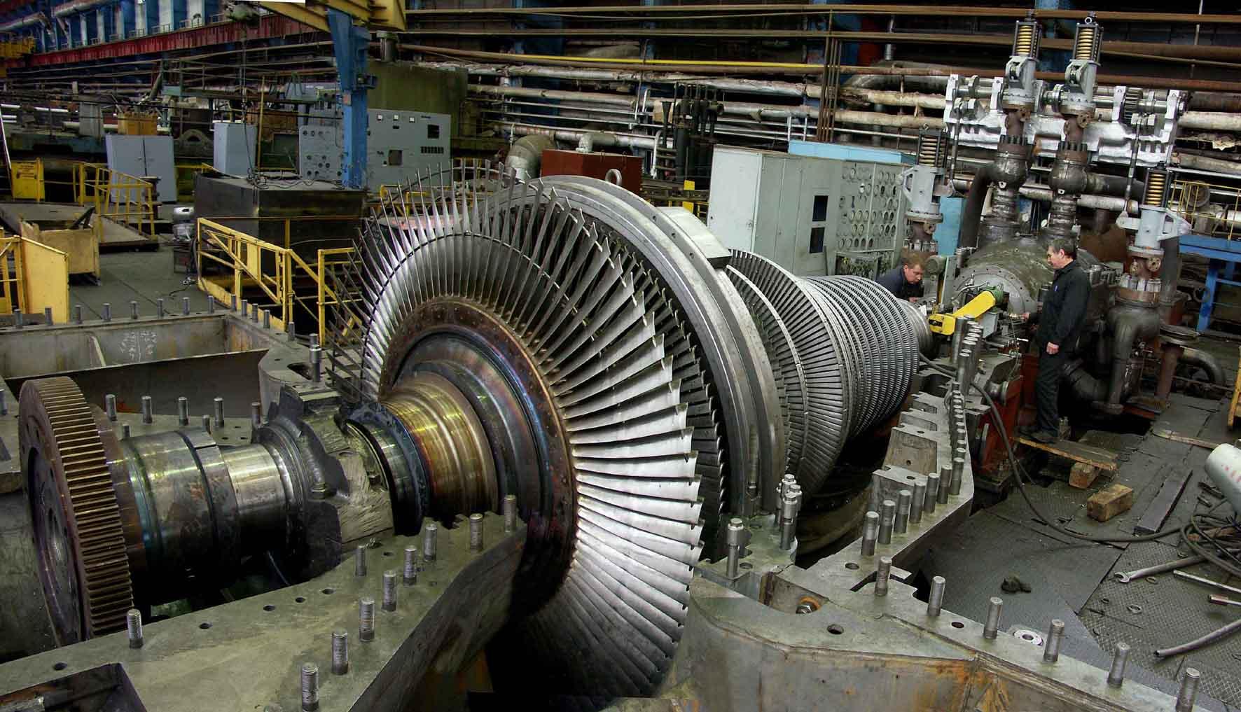 Ротор теплофикационной турбины