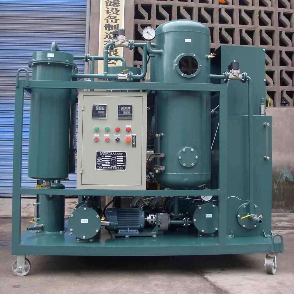 Система очистки турбинного масла