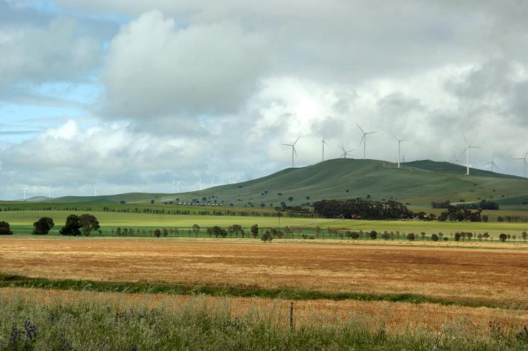 Ветряные турбины в Австралии