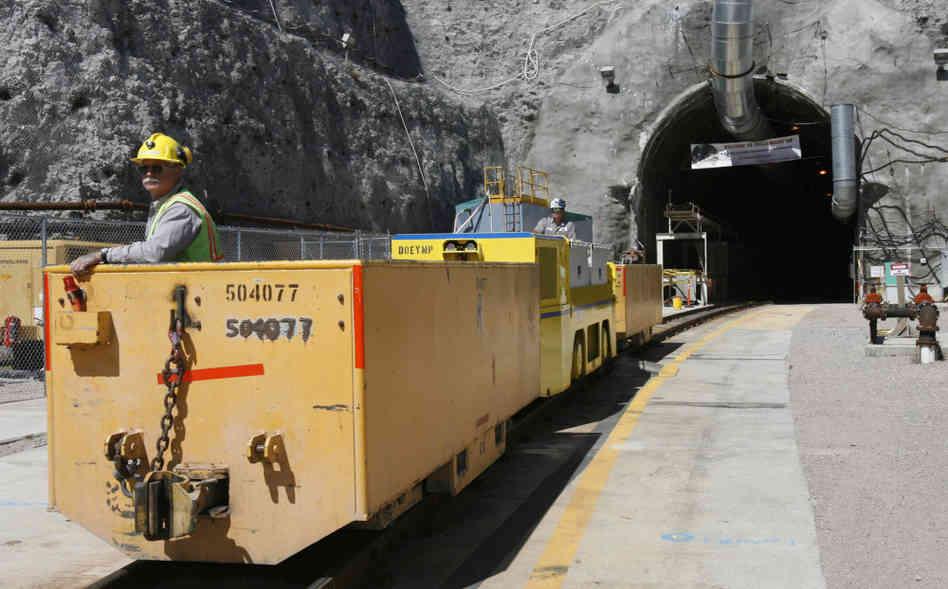 Подземное хранилище отработанного ядерного топлива в Нью-Мексико