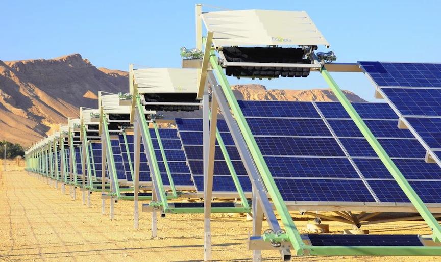Солнечная электростанция в Израиле Ketura