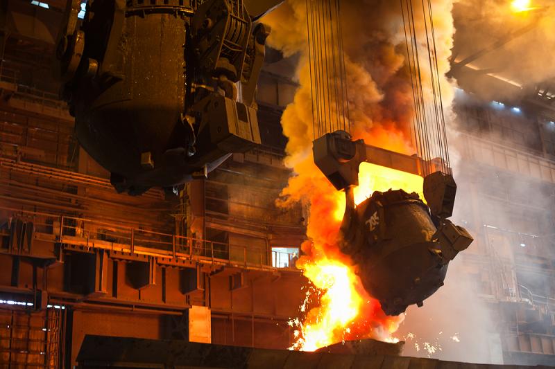 Производство стали в Китае
