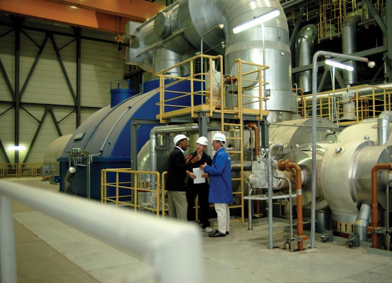 Паровая турбина SST5-6000