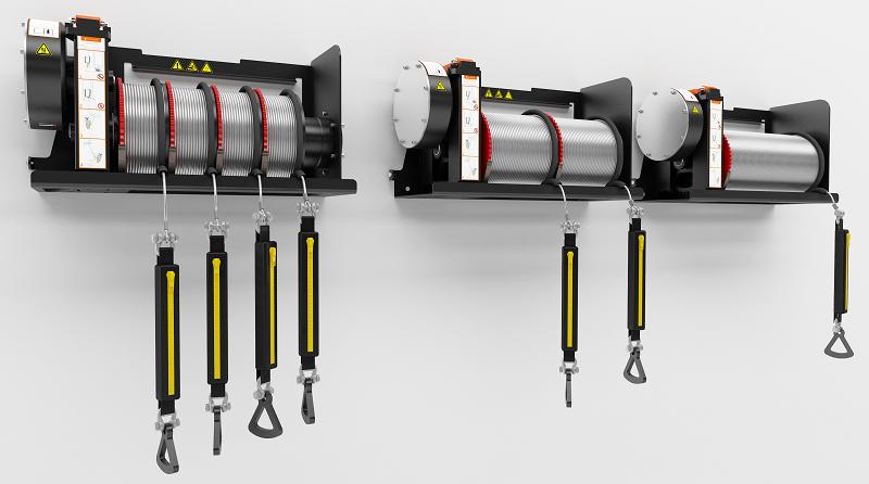 Эвакуатор для ветряных турбин