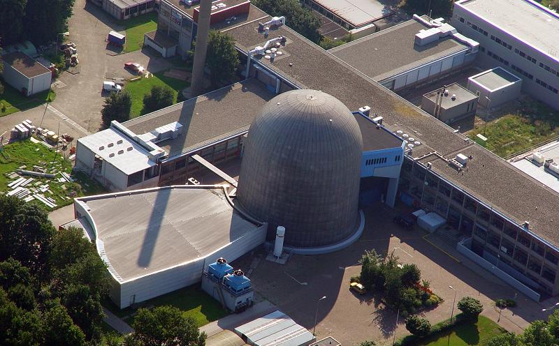 Реактор в Технологическом университете Делфта в Нидерландах