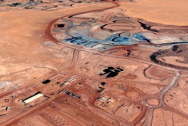 Урановый рудник в Нигере