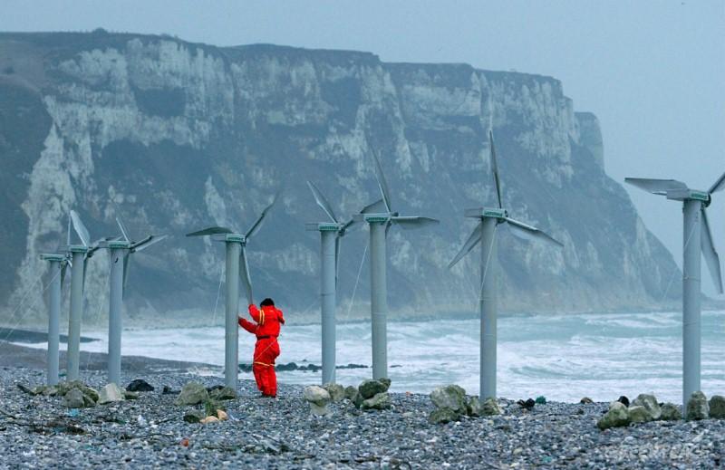 Ветряная электростанция в Арктике