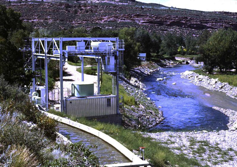 ГЭС в США Большой Томпсон