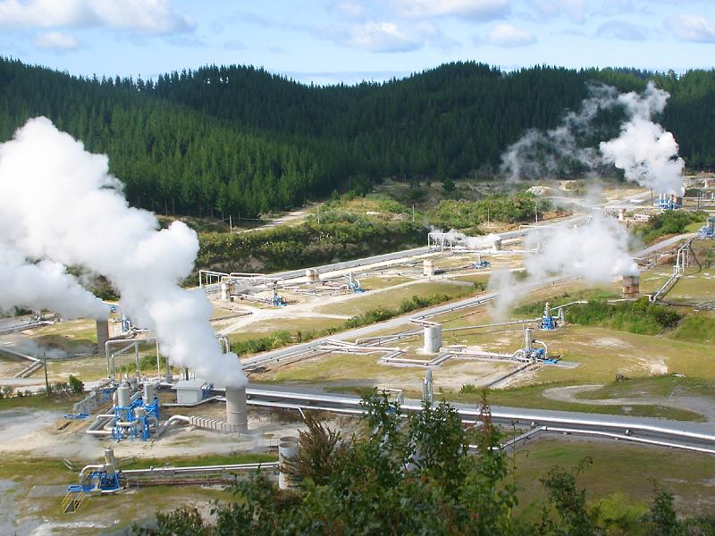 Геотермальная электростанция в Индонезии
