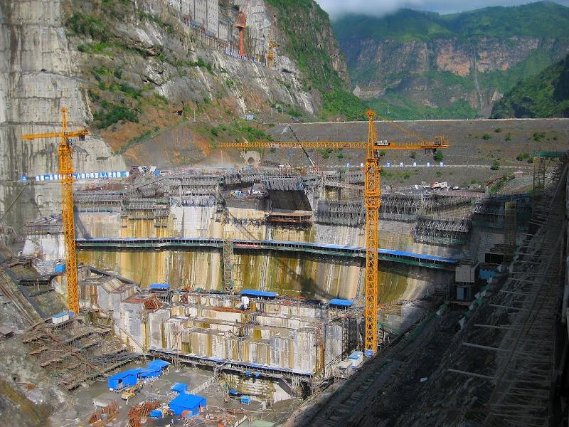 ГЭС в Китае Xiluodu