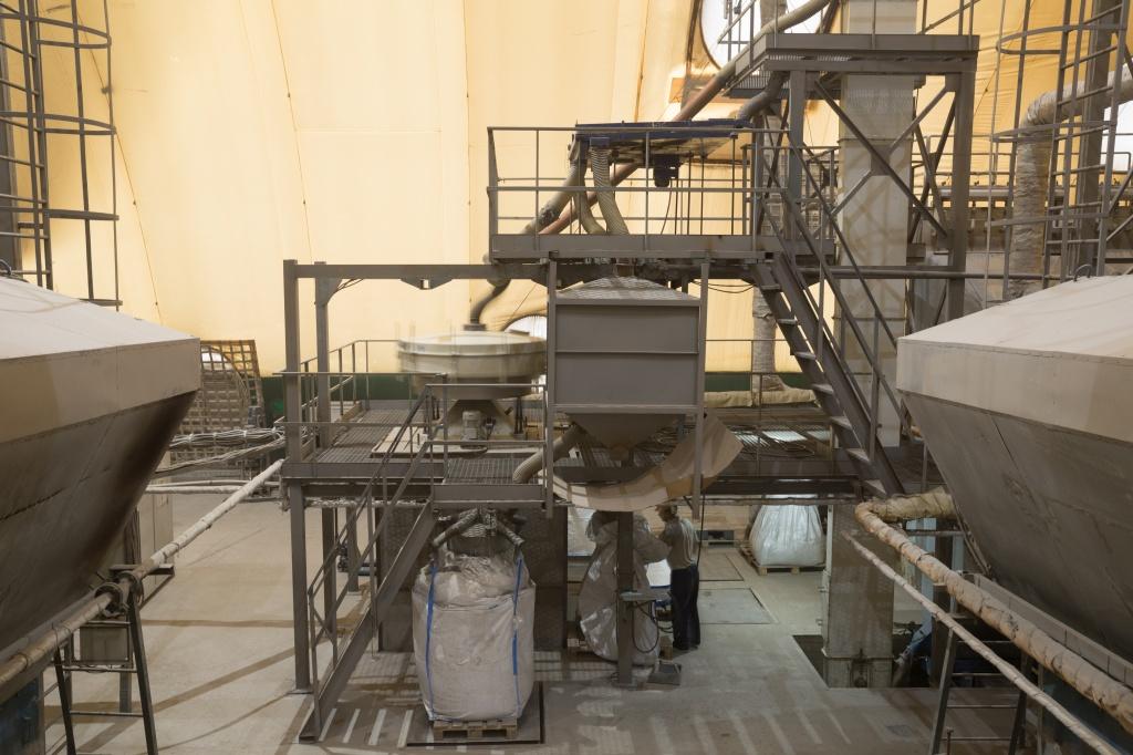 Изготовление микросферы на Беловской ГРЭС