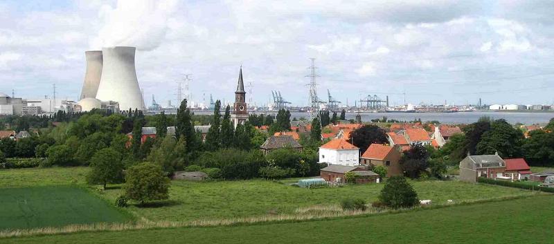 АЭС в Бельгии Doel