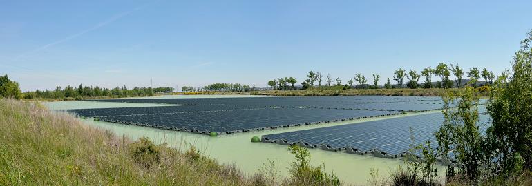 Плавающие фотоэлектрические установки в Японии
