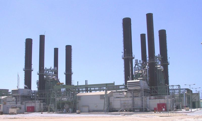 Электростанция в секторе Газа