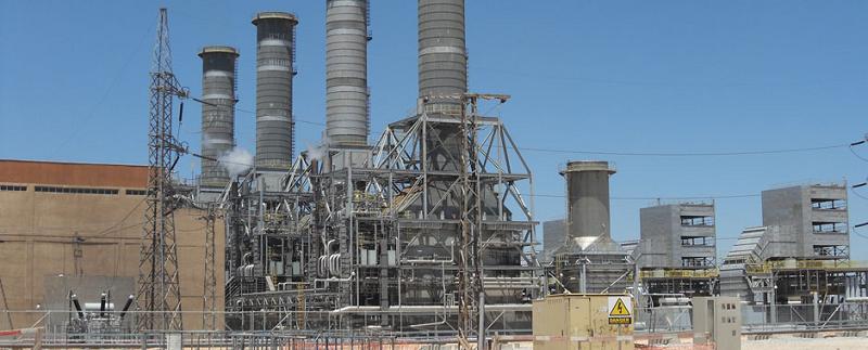 Электростанция в Сирии Jandar