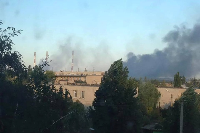 Взрыв на Луганской ТЭС