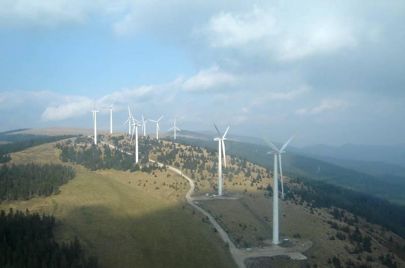 Австрийский ветропарк Steinriegel в Штирии