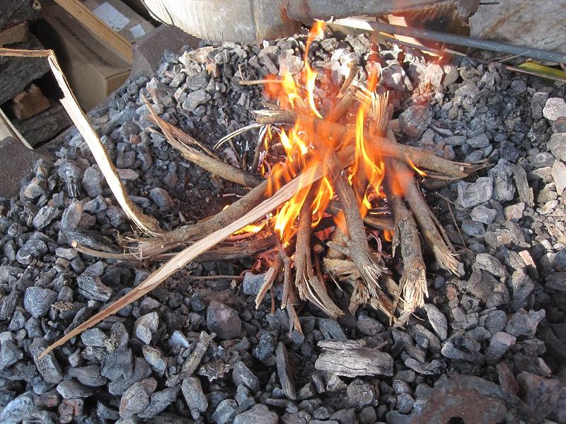 Уголь не горит