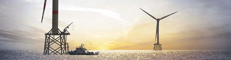 В Европе цена на электричество с морских ветряных электростанций упала до 4,5 рублей за кВт*час