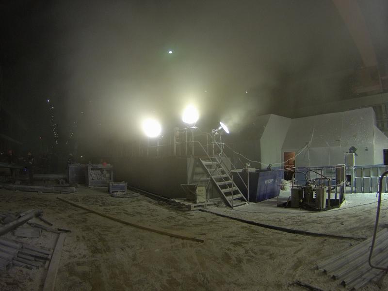 Сургутская ГРЭС-2, пожар и обрушение кровли 2015 год
