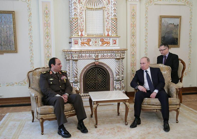 Путин и Фаттах аль-Сиси