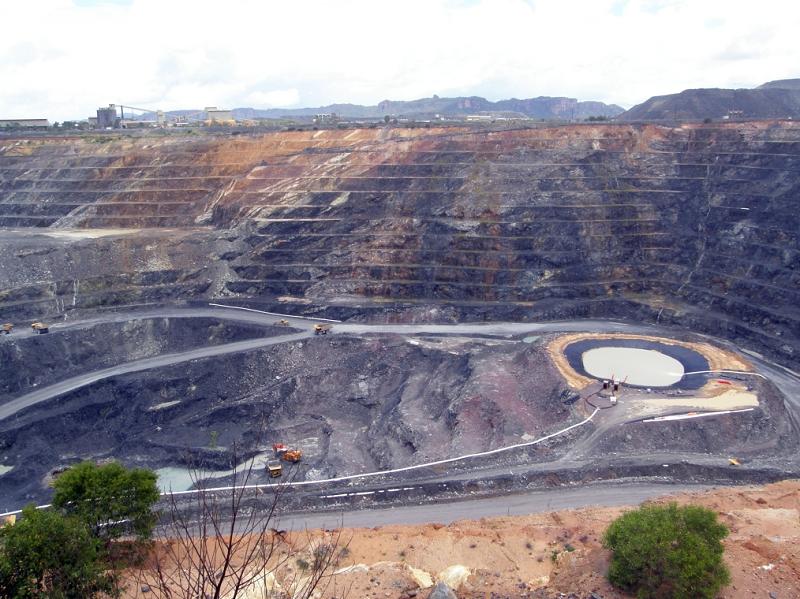Урановый рудник в Австралии
