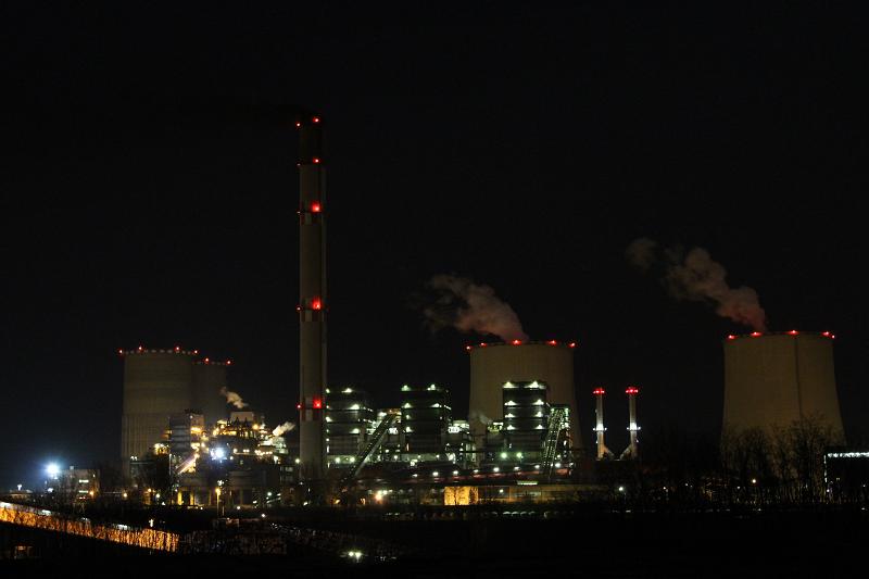 Угольная электростанция Matra в Венгрии