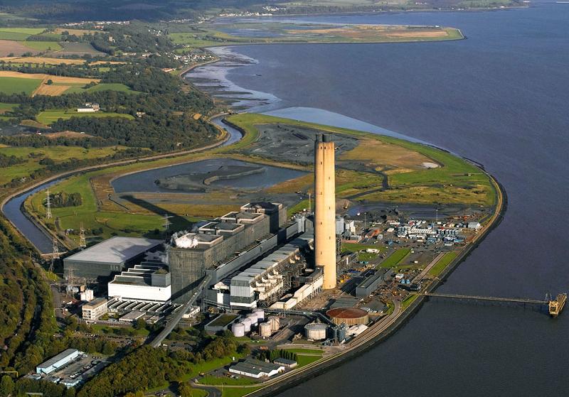 Последняя угольная электростанция Шотландии остановлена