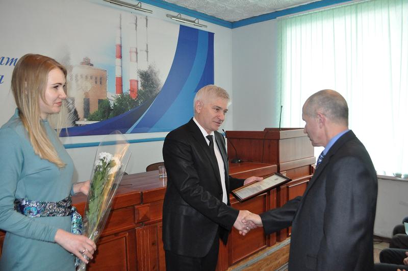 Сотрудников Барнаульской ТЭЦ-2 и Барнаульских теплосетей наградили за ликвидацию пожара
