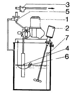 Схема установки для дозирования реагентов