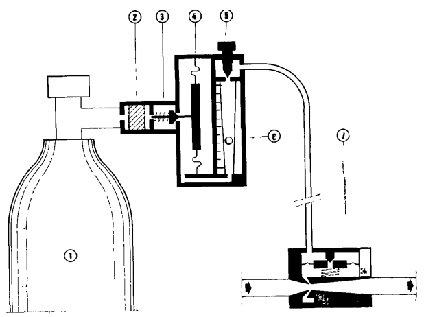 Принципиальная схема компактного хлоратора