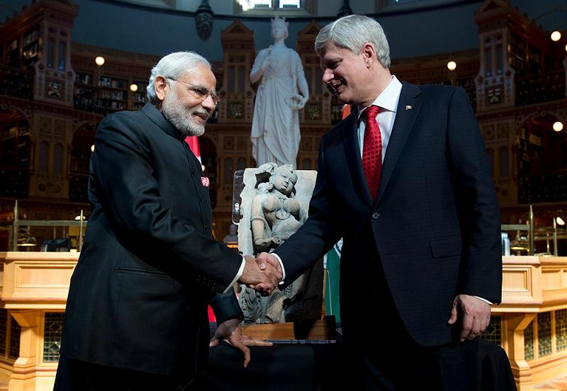 Премьер-министр Индии и Канады