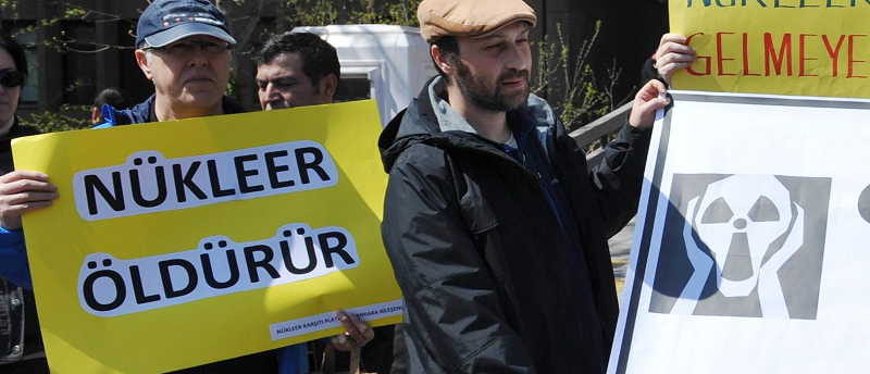 В Турции начались протесты из-за начала строительства первой атомной электростанции