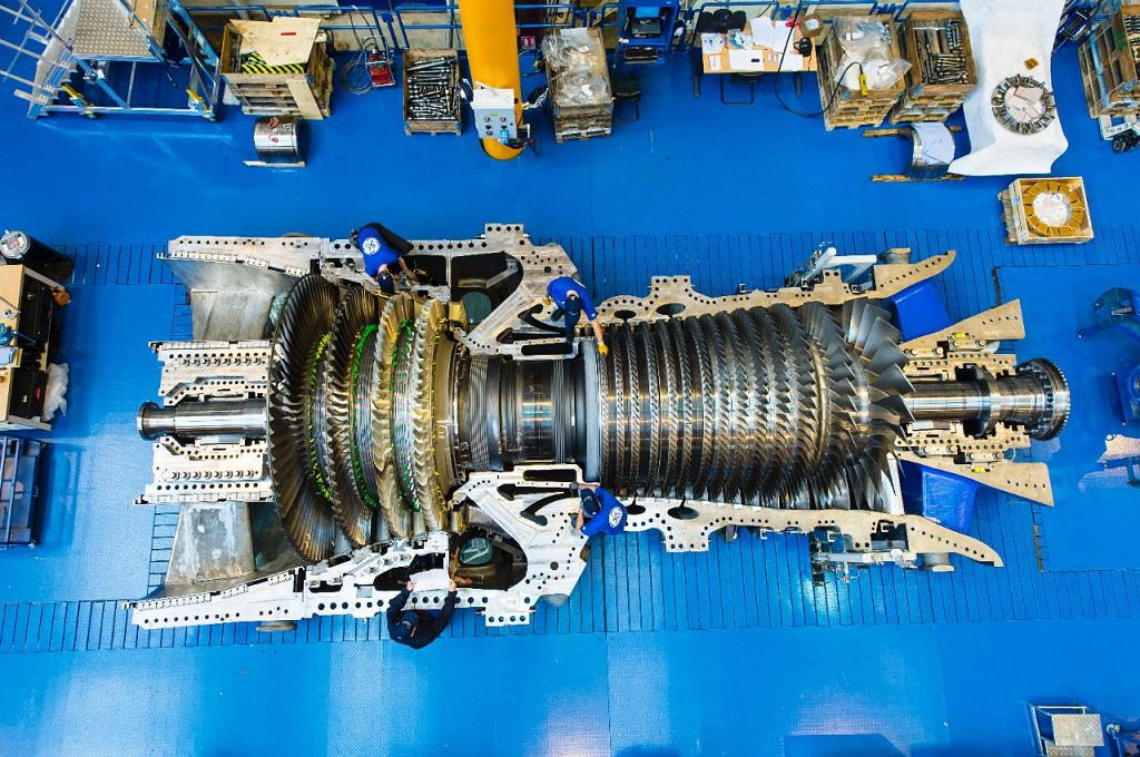 Газовая турбина GE 9HA